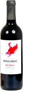 Available Red Blend 2013 750ml